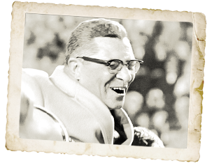 The great Vince LOMBARDI